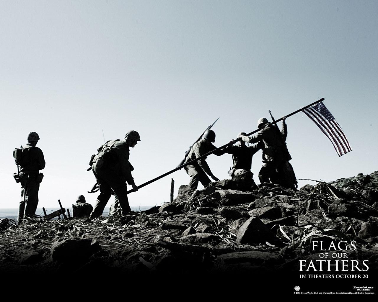 图库 电影剧照 > 父辈的旗帜壁纸