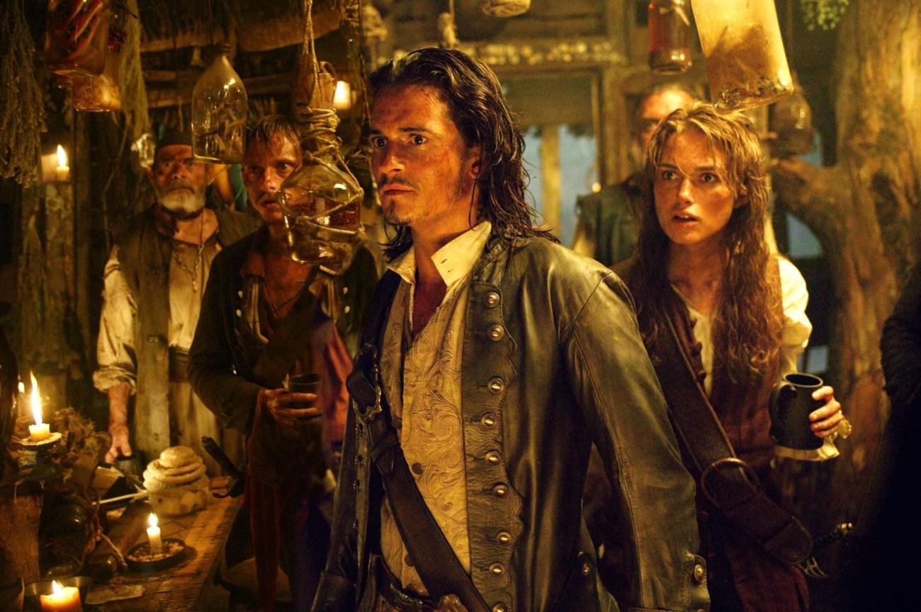加勒比海盗2剧照