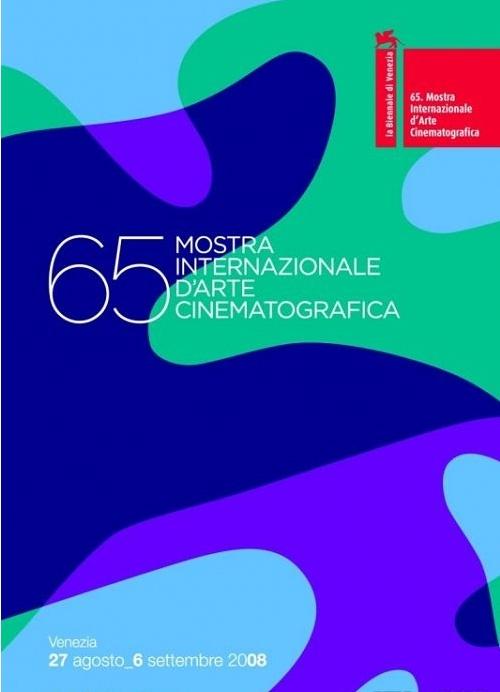 三色影院_第65届威尼斯电影节海报曝光,该款海报以蓝,绿,紫三色作为基本色调