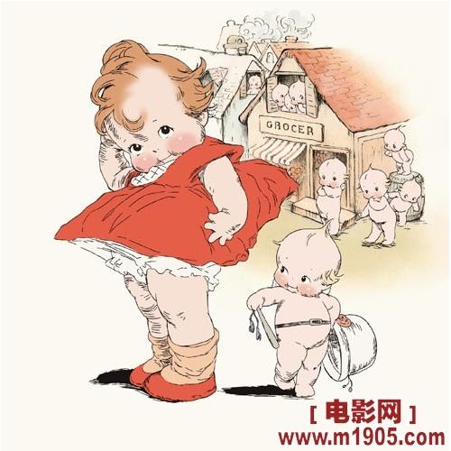紧张,不过我一边配音一边在想,如果我能成为丘比娃娃那样可爱该有多好