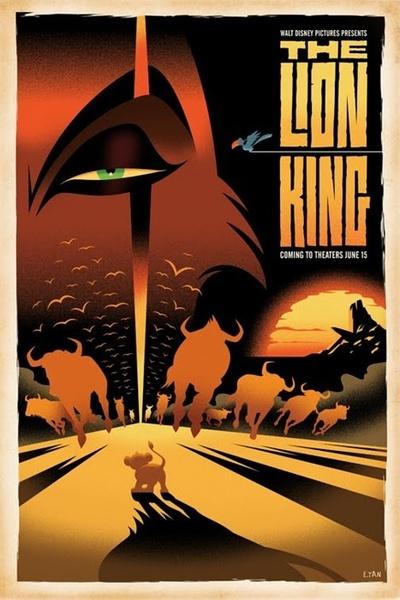 狮子王 电影 海报_狮子王 电影 海报
