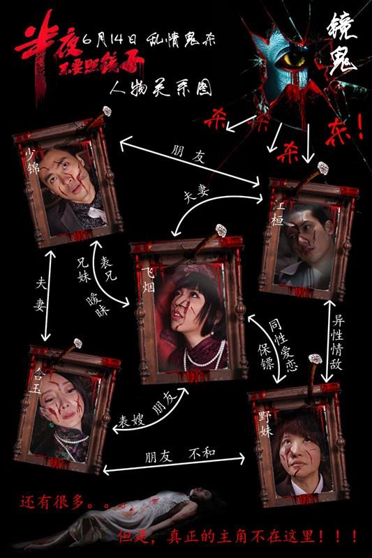 半夜不要照镜子_电影海报_图集_电影网_1905.com