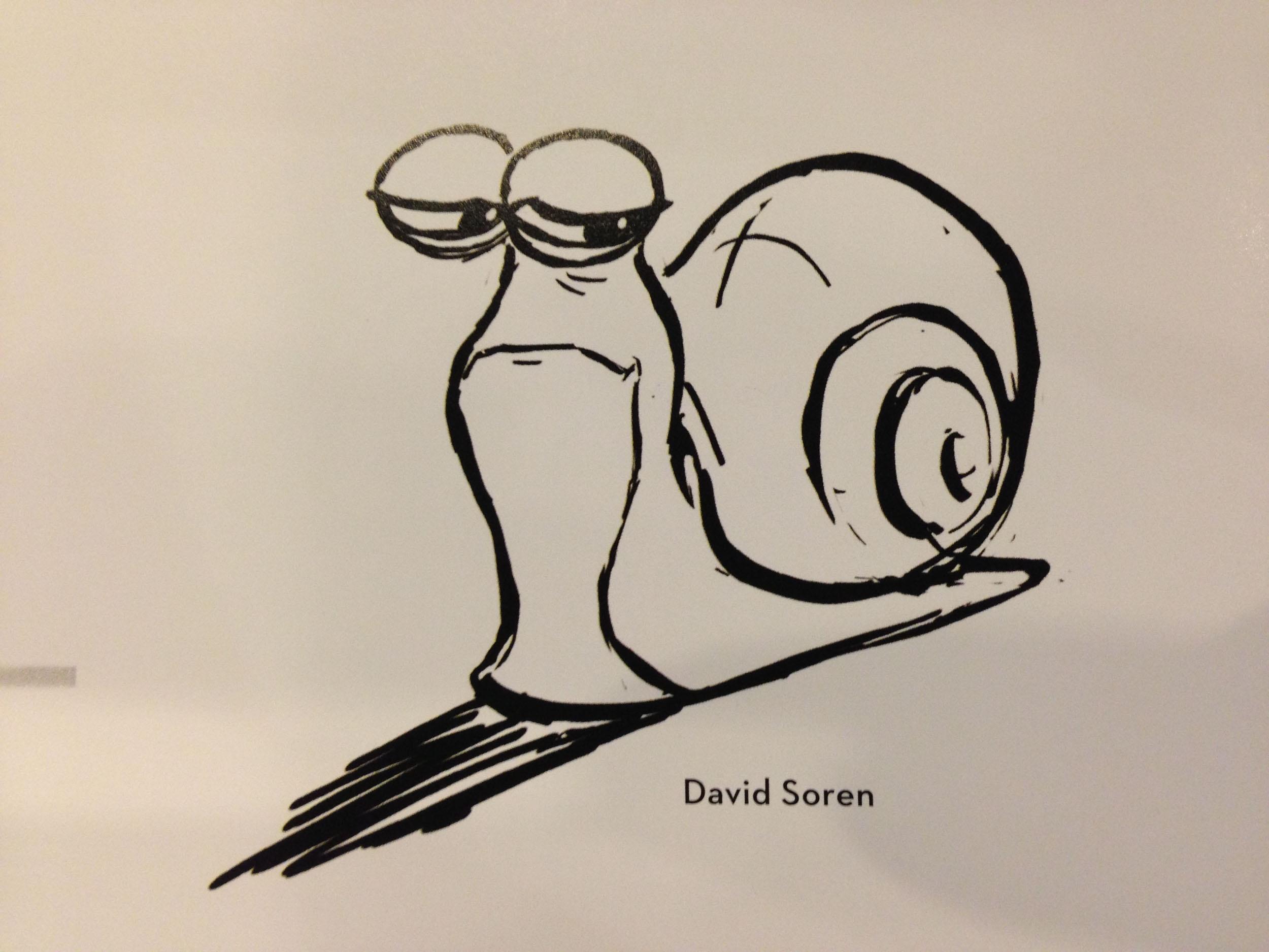蜗牛手绘图片大全