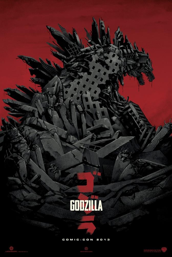 哥斯拉 首支预告曝光 巨型怪兽横行破坏城市