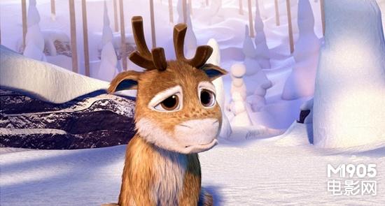 可爱森林小麋鹿