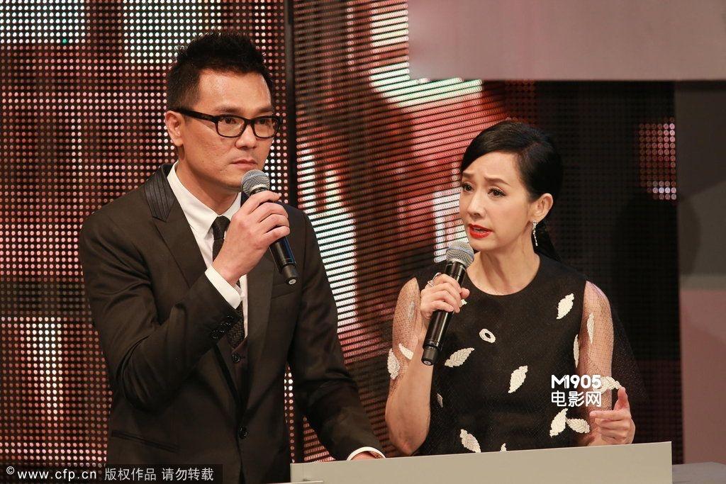 香港电影金像奖盛大举行 林家栋,毛舜筠妙语连珠图片