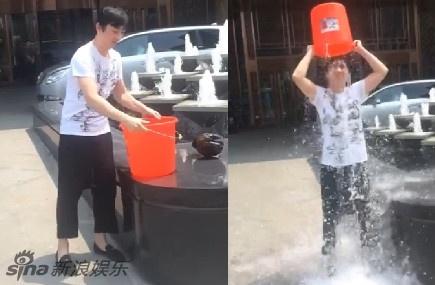 """停不下来!刘德华,周杰伦,王力宏""""冰桶挑战"""""""