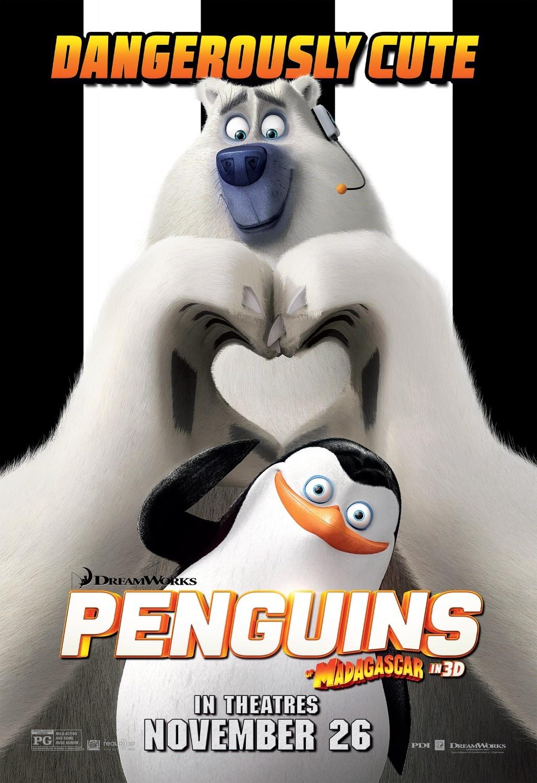 马达加斯加的企鹅_电影海报