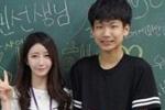 """又是别人的老师:韩国""""雪肌女实习老师""""走红"""