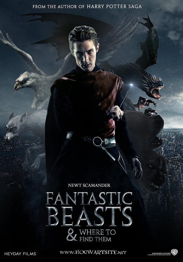 神奇动物在哪里_电影海报