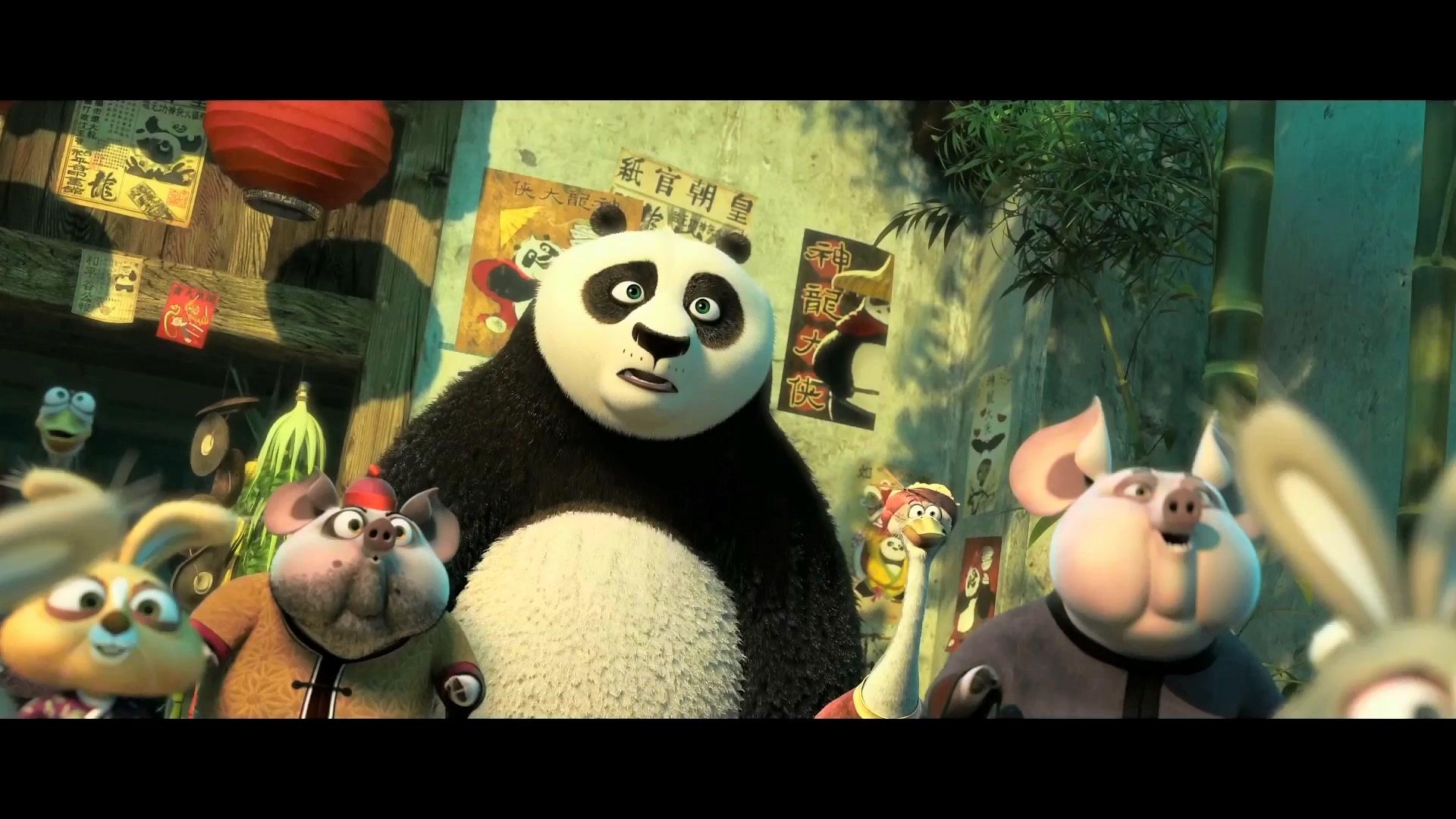 《功夫熊猫3》全球同步曝预告 熊猫阿宝偶遇生父图片