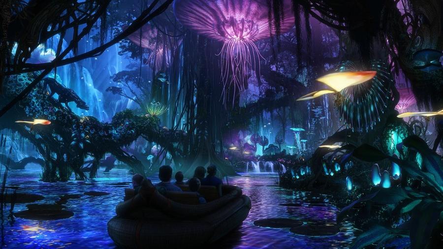 迪士尼乐园设置阿凡达主题景区 新曝概念设计图