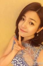 陈妍希被求婚后首次晒美照 难掩幸福