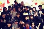 杜海涛28岁生日 快乐家族、阿Sa为其庆生人缘好