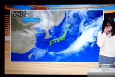 日本女主播边哭边播天气预报 被质疑失恋