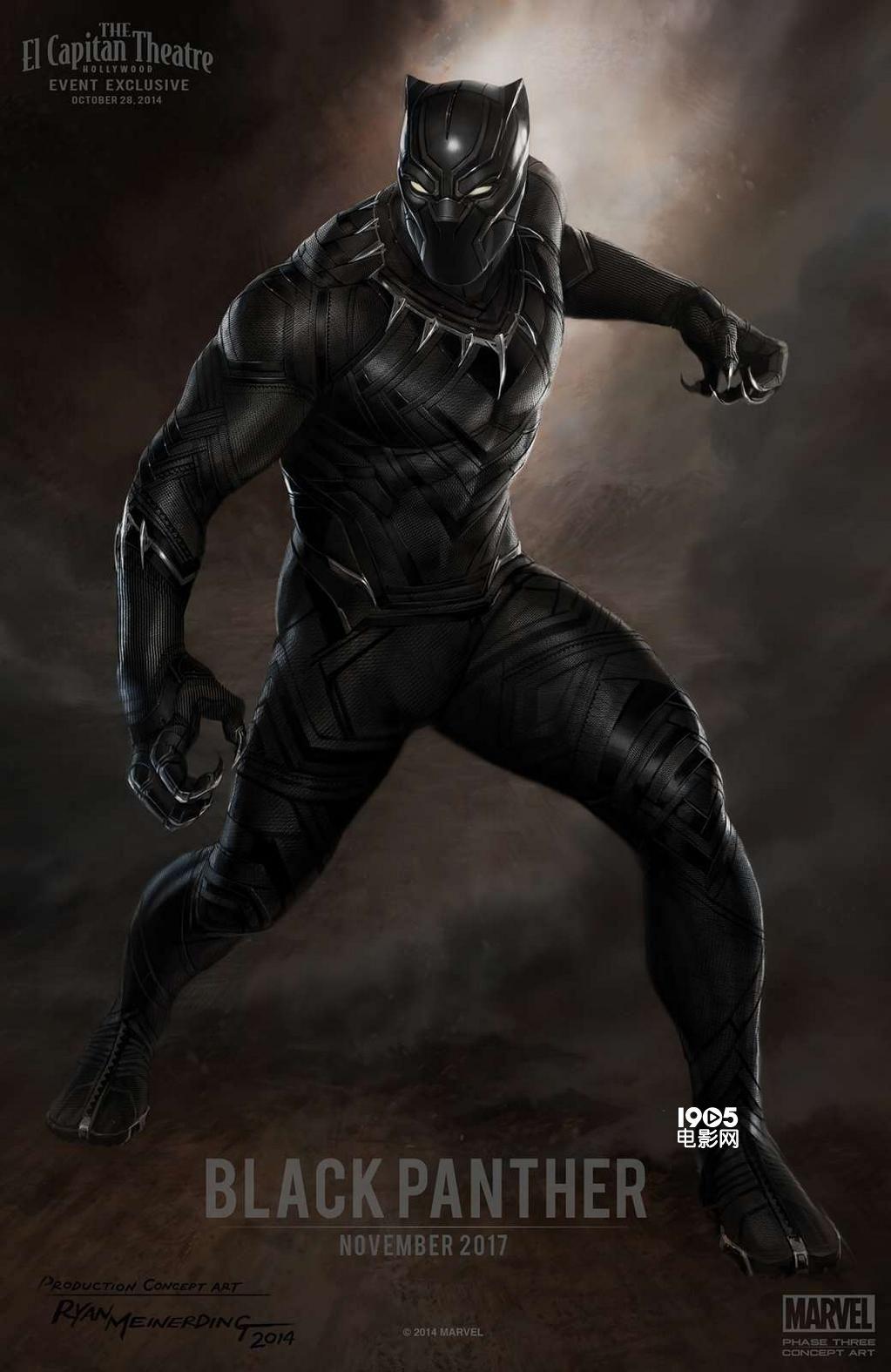 《黑豹》新动态 剧情将直接与-复仇者联盟-接轨