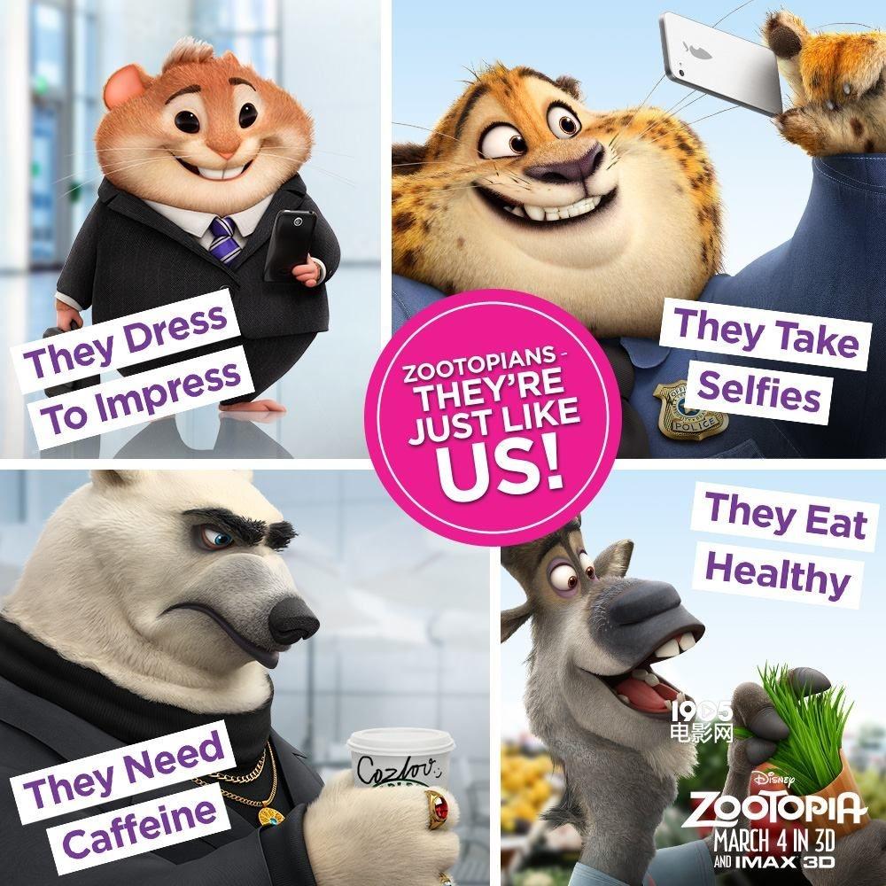 疯狂恶搞!动物城里的主角们爆红后都去哪儿了
