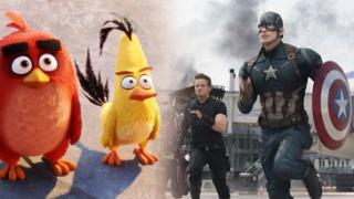 5月观影指南:超级英雄齐登场 愤怒小鸟斗绿猪