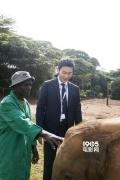 出席联合国环境大会 李晨:艺人不是做公益前提