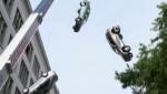 《速度与激情8》片场花絮 坠车爆炸花样百出