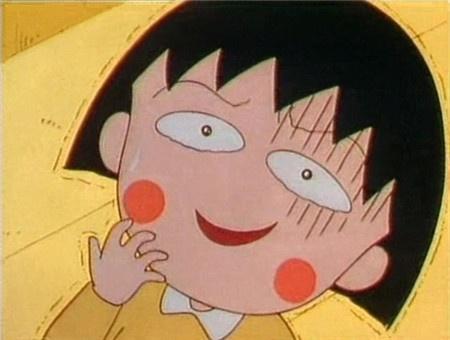 《樱桃小丸子》的特点是当角色尴尬时会出现黑线的招牌表情,有时还会