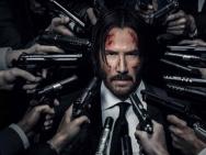 《疾速追杀2》海报、预告 基努·里维斯被万夫枪指