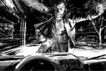 《金刚狼3》再曝片场照故事版 末世气息钢爪再现