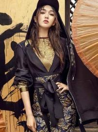 唐嫣登《时尚COSMO》封面 日系御姐范儿攻气十足