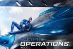 《超凡战队》曝最新海报 蓝色战士携新型头盔亮相