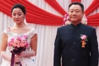 """刘蓓、范伟步入""""婚姻殿堂"""""""