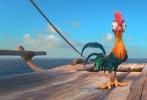 迪士尼动画《海洋奇缘》于近日公布了全新的电影片段和 幕后特辑。新公布的片段是一支完整的歌曲。在片段中,出现了大量的人物,他们在船上伴随着音乐和歌曲载歌载舞,非常具有迪士尼动画的特色。