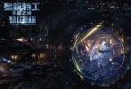 """由著名导演吕克·贝松执导,戴恩·德哈恩、卡拉·迪瓦伊、蕾哈娜、伊桑•霍克、克里夫•欧文、吴亦凡等出演,法国欧罗巴公司和中国基美影业联合制作出品的科幻动作巨制《星际特工:千星之城》今日首度曝光了先导预告片。超越想象极限的浩瀚宇宙图景、星际大都会Alpha空间站终于揭开了神秘面纱,宛如一幅充满奇思妙想的超时空画卷展现在观众眼前。完美的想象力、炫目的特效镜头、以及梦幻空灵的Beatles经典配乐融合在一起,让这支预告片过目难忘。""""小绿魔""""与卡拉组成最炫酷星际特工,歌坛天后蕾哈娜"""