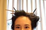 筷子头是不是太帅了?网友为莫文蔚新造型点赞