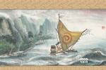 《海洋奇缘》中国风水墨海报 获赞爆笑走心动画