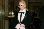 Lady GaGa超短裙秀美腿 造型优雅名媛范显瘦减龄