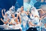 20周年巡回演唱会上 梁咏琪宣布将停工备孕二胎
