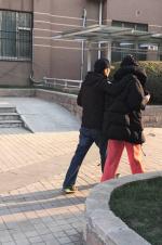 王菲谢霆锋十指紧扣散步 网友关注的却是男方身高