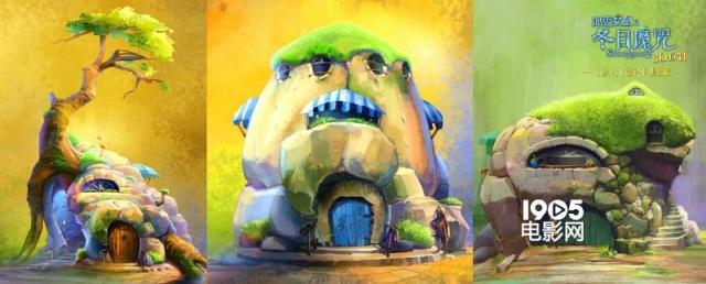 3d动画《冰雪女皇》手绘图曝光 合家观影不二选择