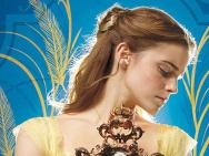 《美女与野兽》全新预告海报 艾玛沃森上演侧颜杀