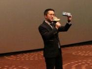北京万达影城槐房店IMAX宣讲会 画面震撼富冲击力