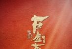 """2017年1月1日,由阿里影业出品的电影《古剑奇谭之流月昭明》官方发布了一组新年海报。海报中,主演王力宏、宋茜、高以翔、高圣远、吴千语、李媛、伍嘉成站在巨大的白色祝福语上,搭配充满节日氛围的红色背景,携神秘礼物""""偃甲""""恭贺新年。"""