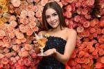环球小姐展示金球奖晚宴菜单 佳肴香槟令人垂涎