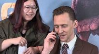 《金刚:骷髅岛》抖森采访接电话花絮