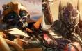 《变形金刚5》八款动态海报 擎天柱威震天齐亮相