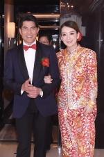 51岁郭富城终于大婚 张智霖夫妇、邱淑贞等现身