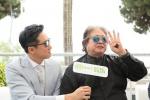洪金宝父子戛纳受访:用中国电影输出中国文化