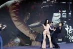华语魔幻优乐国际《悟空传》此前定档7月13日登陆内地院线,6月8日,该片在京举行首场发布会,监制黄建新、导演郭子健、原著作者今何在及男女主角彭于晏、倪妮一同亮相。