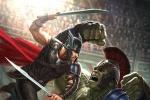 《雷神3》曝概念图 锤哥角斗场对打绿巨人浩克