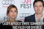 卡西·阿弗莱克之妻莎莫·菲尼克斯正式诉请离婚