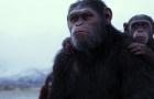 《猩球崛起3》曝小坏猿与毛里斯片段